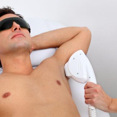 Мужская лазерная эпиляция фото